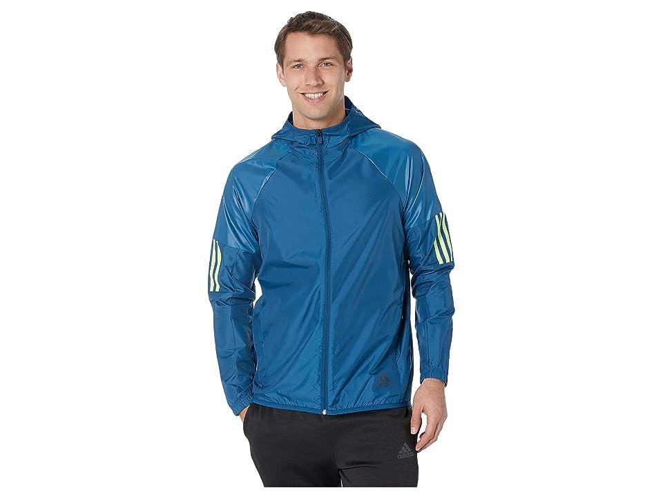 adidas Wind Full-Zip Jacket (Legend Marine) Men