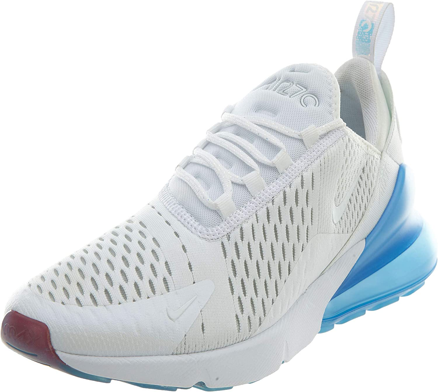 Nike AIR MAX 270 - AQ7982-100 White, Metallic Silver