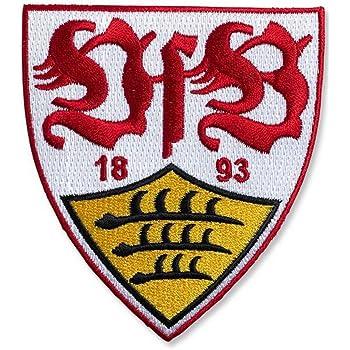 Flaggenfritze Aufnaher Vfb Stuttgart Wappen 8 X 8 Cm Gratis Aufkleber Amazon De Sport Freizeit