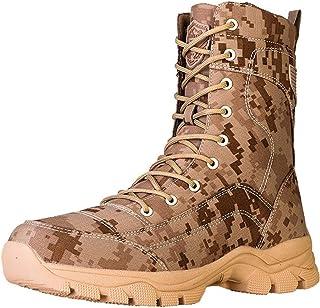 SHOULIEER Bottes Tactiques Militaires pour Hommes Bottes de l'armée de Combat Bottes Tactiques de Camouflage Haut de Gamme