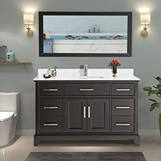 Best white single sink bathroom vanity Reviews