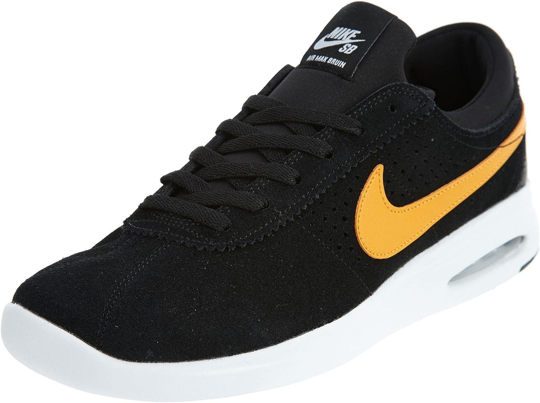 Nike Air Max Bruin Vapor Mens Fashion-Sneakers 882097-081_7 - Black/Circuit Orange-White-Black