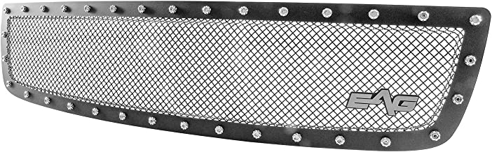 EAG Rivet Stainless Steel Wire Mesh Grille Fit for 03-06 GMC Sierra 1500