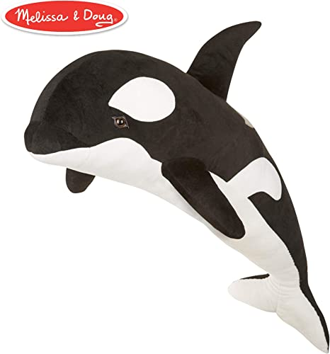 Melissa & Doug Orca Whale Plush Animal