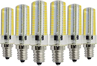 Led bulbs, YWXLIGHT, Dimmable E14 7W 152LED 3014SMD 600-700 LM Warm White Cool White Silicone lamp LED Corn Bulbs AC 110-1...