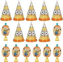 Despicable Me 3 Minions Party Bundle for 8 People (Blowouts & Hats)