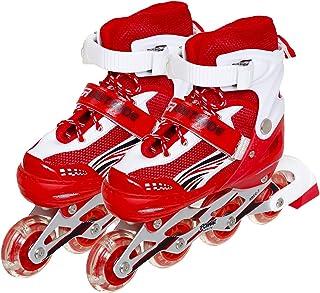 حذاء تزلج للجنسين من بور اوت سيت - ابيض احمر