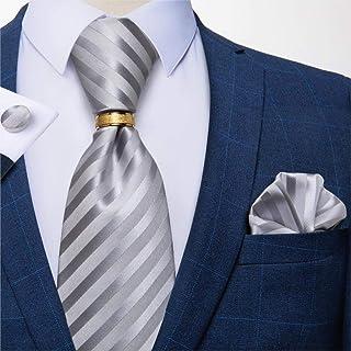 Uomo Taschino Pochette Tinta Unita Vestito Degli Raso Multicolori Fazzoletto