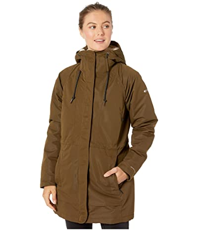 Columbia South Canyontm Sherpa Lined Jacket (Olive Green) Women