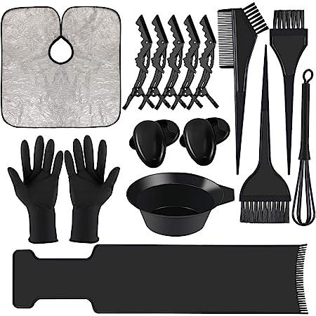 Corrines - Kit de herramientas de tinte para el pelo, para ...