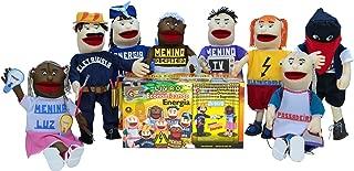 Livro Fantoches Economizando Energia Caixa Papel Carlu Brinquedos