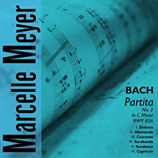bach partita 2 c minor