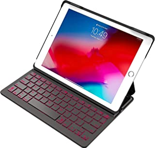 Inateck iPad Keyboard Case 9.7, for iPad 6th Gen 2018 and iPad 5th Gen 2017, iPad Air 1, 7 Color Backlit, KB02002