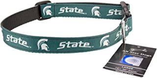 All Star Dogs Michigan State Spartans Ribbon Dog Collar