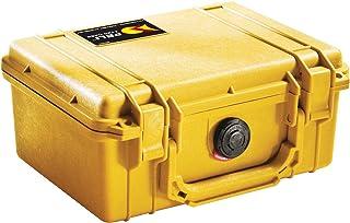 PELI 1120 Funda de cámara rígida y estanca para Equipos fotográficos y delicados IP67 estanca e Impermeable al Polvo 5L de Capacidad Fabricada en EE.UU sin Espuma Color Naranja