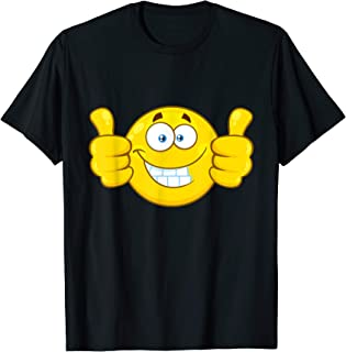 Two Thumbs Up Smiley Face