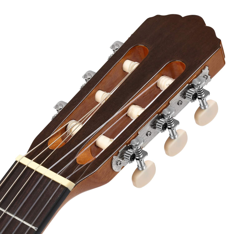 Donner Guitarra Clásica Española de 39 pulgadas Tamaño Completo ...