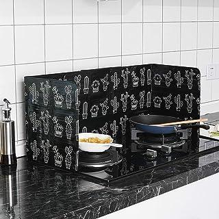 Auplew Spritzschutz Klappbarer Home Kitchen Herd Platte verhindern Öl Spritzen Kochen Schallwand Küchenwerkzeug