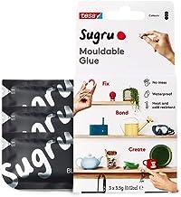 Sugru I000945 Moldable Multifunctionele Lijm voor Creatieve Bevestiging en Maken, Zwart, 3-delig