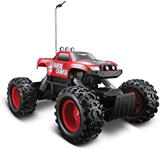 Maisto Tech Red Radio Control Rock Crawler RC Remote Control Race Truck