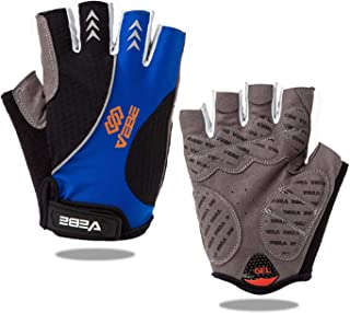 VEBE Cycling Gloves Half Finger Bike Gloves - Non-Slip/Shock Absorption/Breathable Bicycle Gloves