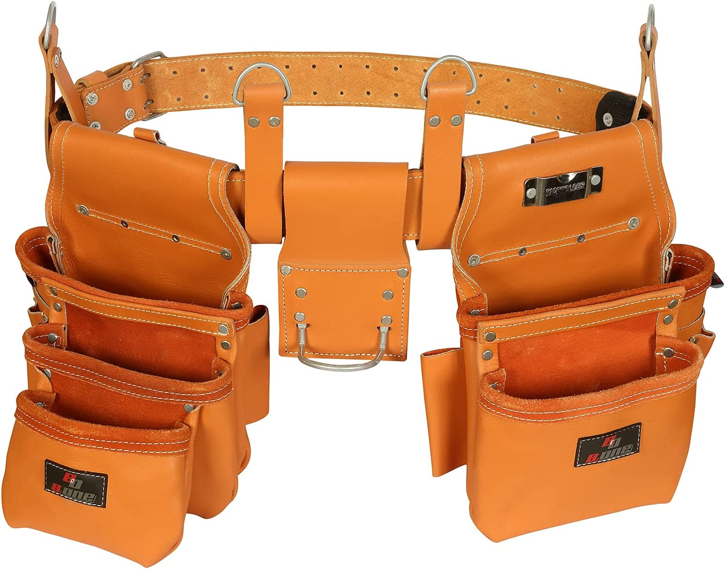 Golden Grain Leather trust Carpenter Tool Belt Daily bargain sale Pouch Bag Rig Se