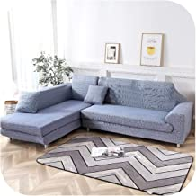 L Shape Corner Sofa Cover Elastic for Living Room Printed Cover for Sofa Slipcovers Stretch 1/2/3/4 Seaters-G246547-2X Pil...