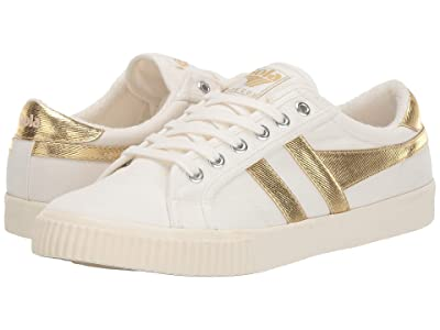 Gola Tennis Mark Cox (Off-White/Gold) Women
