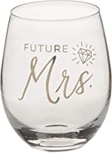 Future Mrs. | 17 oz Stemless Wine Glass | Just Engaged | Bride To Be | Engagement Gift For Bride