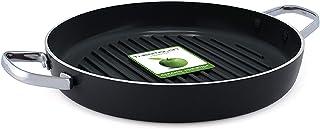 GreenPan CC000495-001 - Crepera, aluminio, aluminio, Negro, 28 cm - Grill