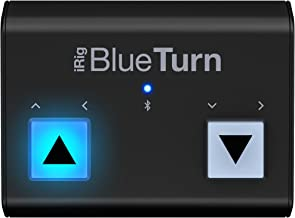 IK Multimedia iRig BlueTurn wireless page turner for smartphones and tablets