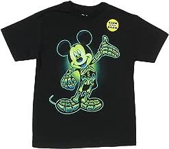 glow in the dark disney halloween shirts
