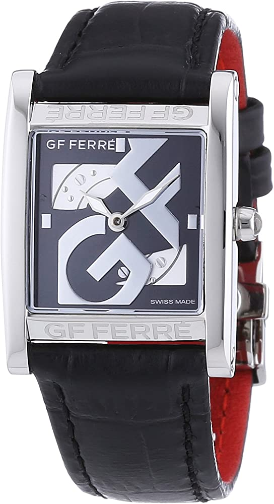 Gianfranco ferre` orologio da donna cassa in acciaio inossidabile cinturino in vera pelle GF 9017L