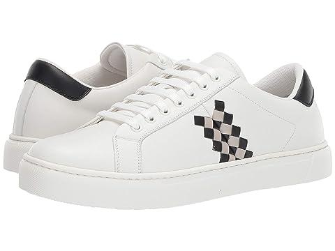 Bottega Veneta Checker Lace-Up Sneaker