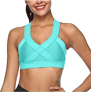 Sports Bra Tight Back Elastic Seamless Yoga Wear Tops Fitness Tank Push Up Underwear Running Sports Bra Top for Fitness Wo...