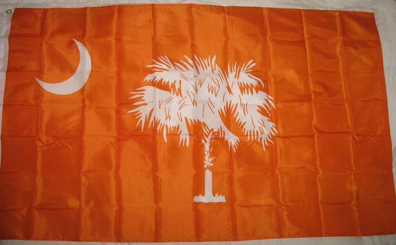 South Carolina Orange Flag 3'x5' Clemson Colors