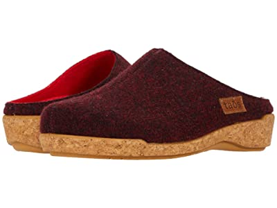 Taos Footwear Woollery (Deep Red) Women
