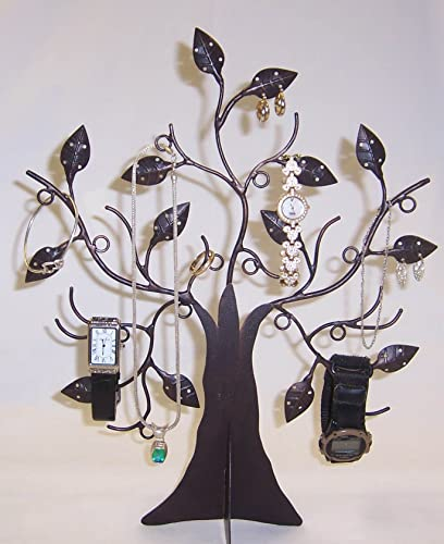 """high quality Decorative 14 1/2"""" Jewelry Tree Stand Organizer - online sale new arrival Black By JUMBL online"""