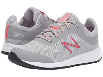 New Balance Kids 455v2 (Little Kid/Big Kid) (Rain Cloud/Guava) Girls Shoes