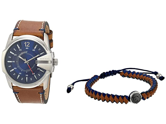 Diesel  Master Chief Three-Hand Watch (Brown) Watches