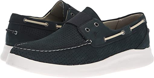 Navy Perforated Nubuck