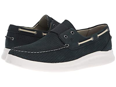 Tommy Bahama Aoenian Perf (Navy Perforated Nubuck) Men
