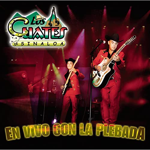 En Vivo Con La Plebada by Los Cuates De Sinaloa on Amazon Music - Amazon.com