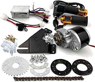 comprar comparacion L-faster 24V36V250W Electric Conversion Kit for Common Bike Left Chain Drive Customized for Electric Geared Bicycle Derail...