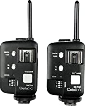 GODOX Cells II 1/8000s HSS Transceiver Wireless Flash Trigger Kit for Canon EOS - 2 Pack
