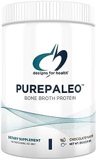 Designs for Health PurePaleo Collagen Protein Powder - 21g HydroBEEF Bone Broth Protein Supplement with Collagen Peptides ...