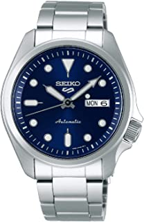ساعة سيكو سبورت 5 فيسليفت اوتوماتيكية من الستانلس ستيل SRPE53K1
