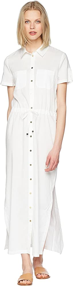 Core Maxi Shirtdress