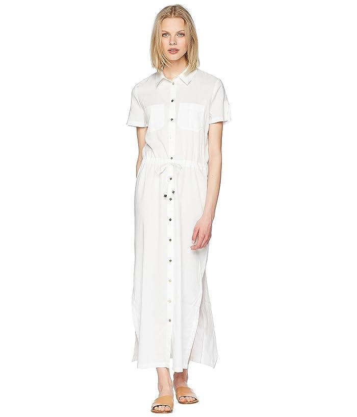 Heidi Klein Core Maxi Shirtdress (White) Women