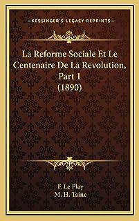 La Reforme Sociale Et Le Centenaire De La Revolution, Part 1 (1890)